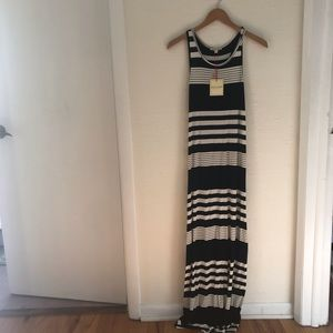 Rolls Costa Stripped Maxi Dress